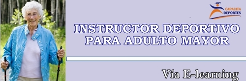 instructor deportivo para adulto mayor